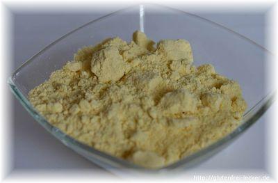 Mehl aus Mais