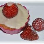 Muffins mit Eierlikörhaube