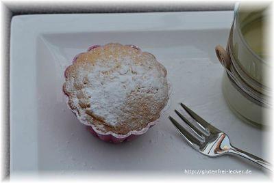 Maismehl Muffin