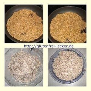 Einfache Herstellung von Sesambutter