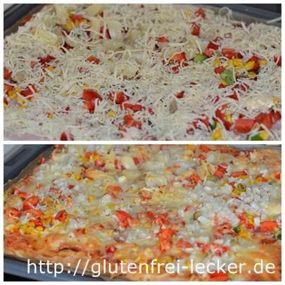 Köstliche glutenfreie Pizza
