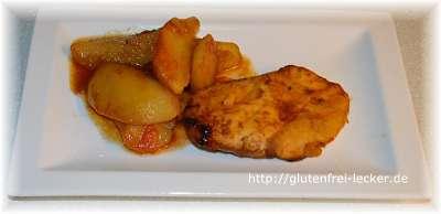 Glutenfreie Hähnchenpfanne
