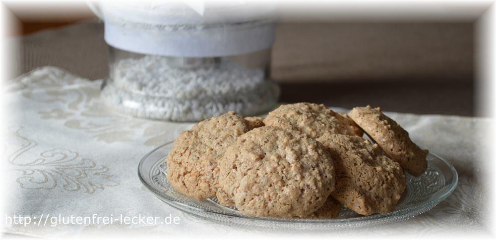 Glutenfreies Eiweißgebäck